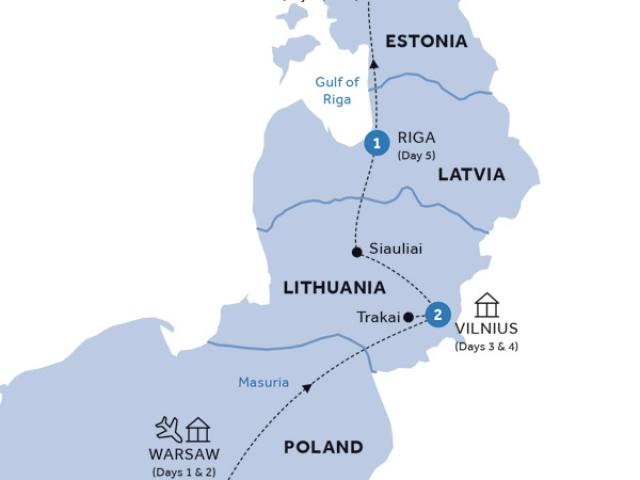 Warsaw & Baltic States