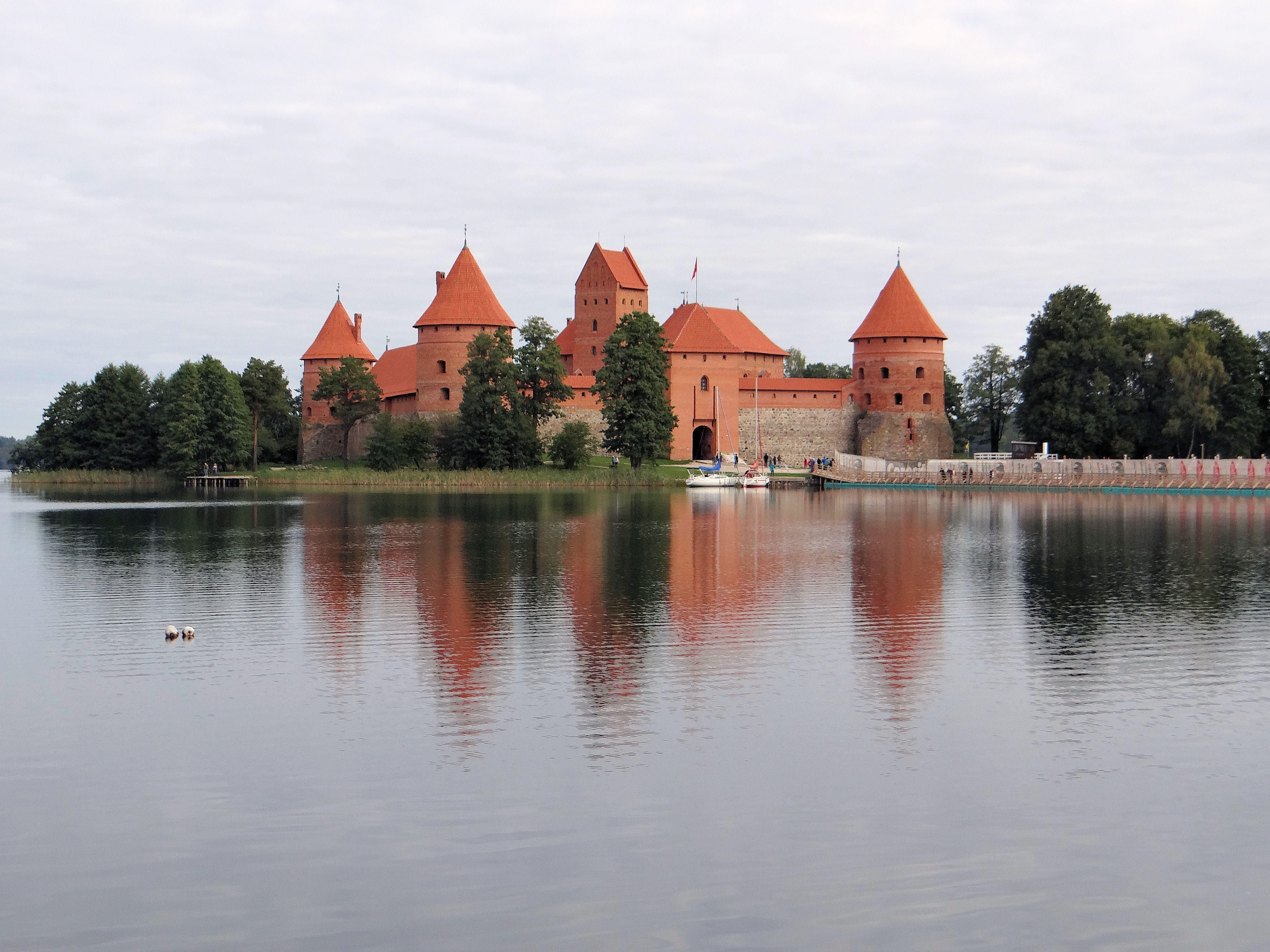 Warsaw & Baltic States - The Island Castle of Trakai, Trakai, Lithuania