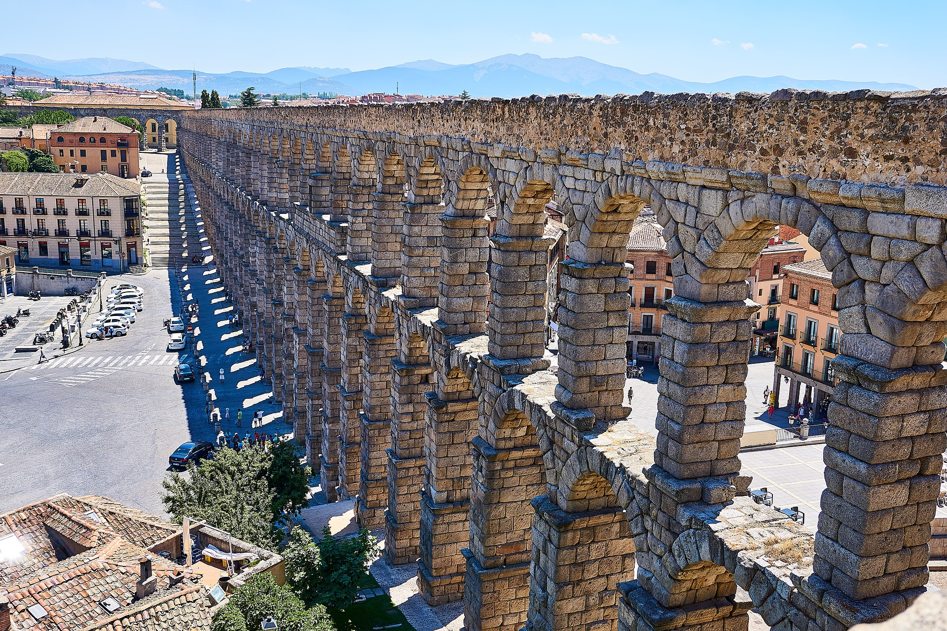 Treasures of Spain & Portugal | Roman Aqueduct, Segovia, Spain