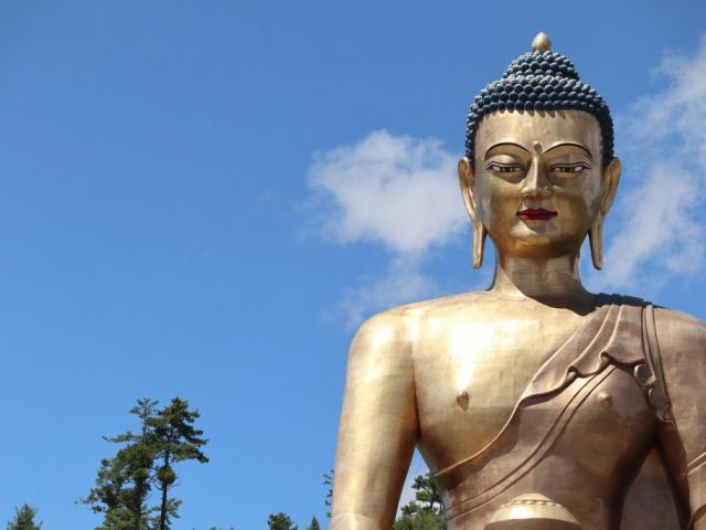 Bhutan Dragon Kingdom - Buddha Dordenma statue, Thimphu, Bhutan