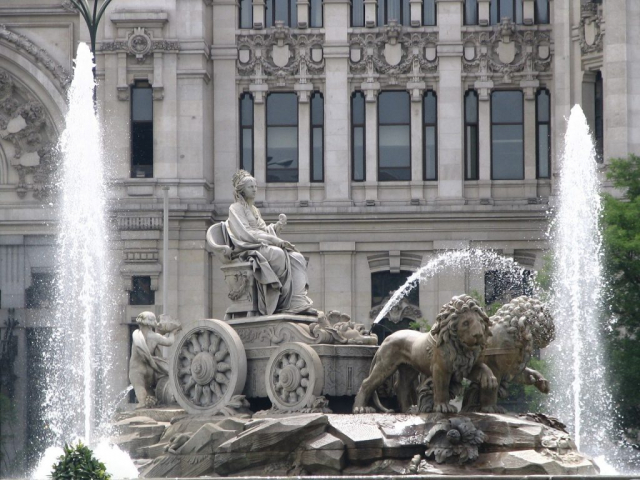 Grand Spain & Portugal - Cibeles Fountain, Madrid, Spain