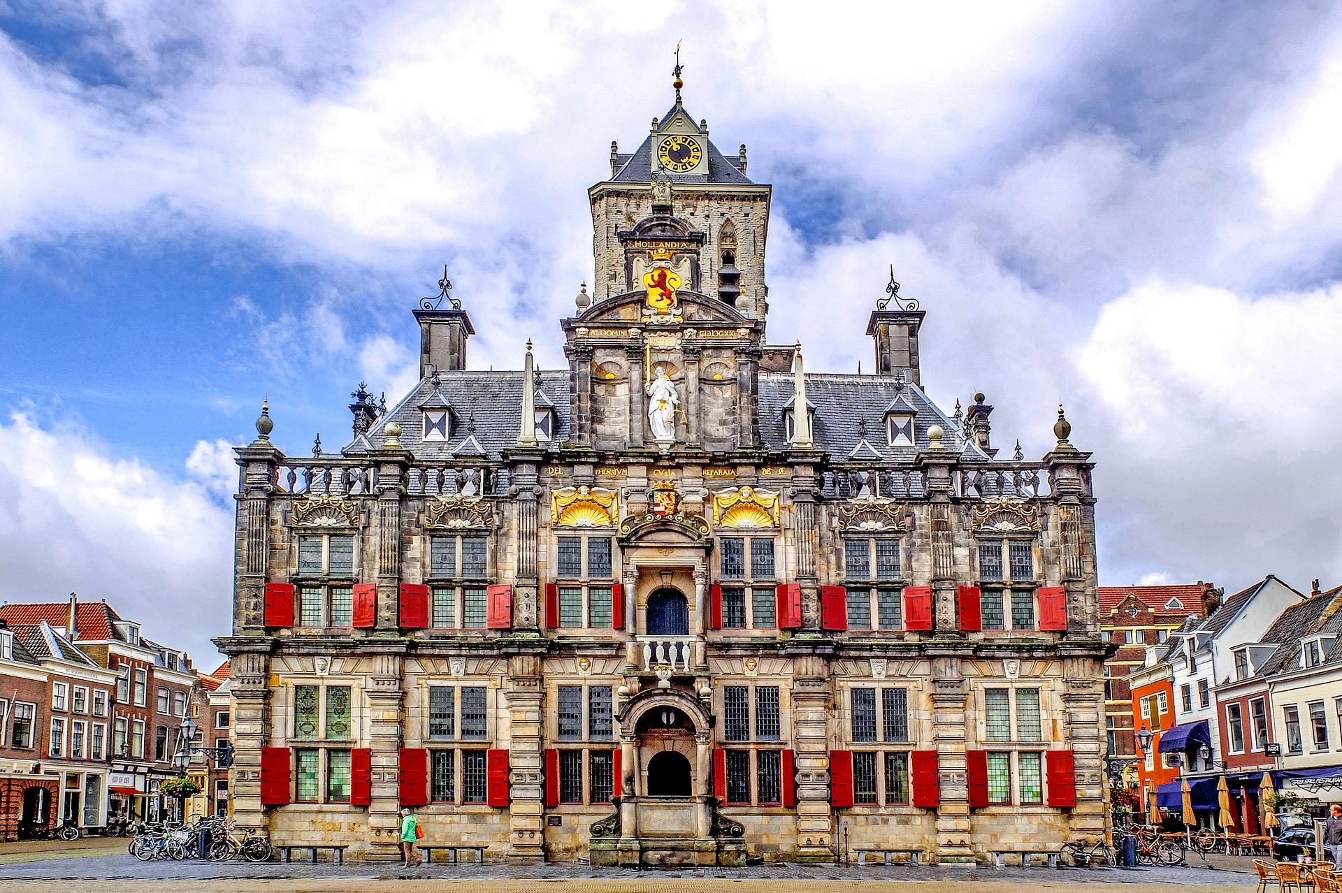 Best of the Netherlands - Delft City Hall, Delft, Netherlands