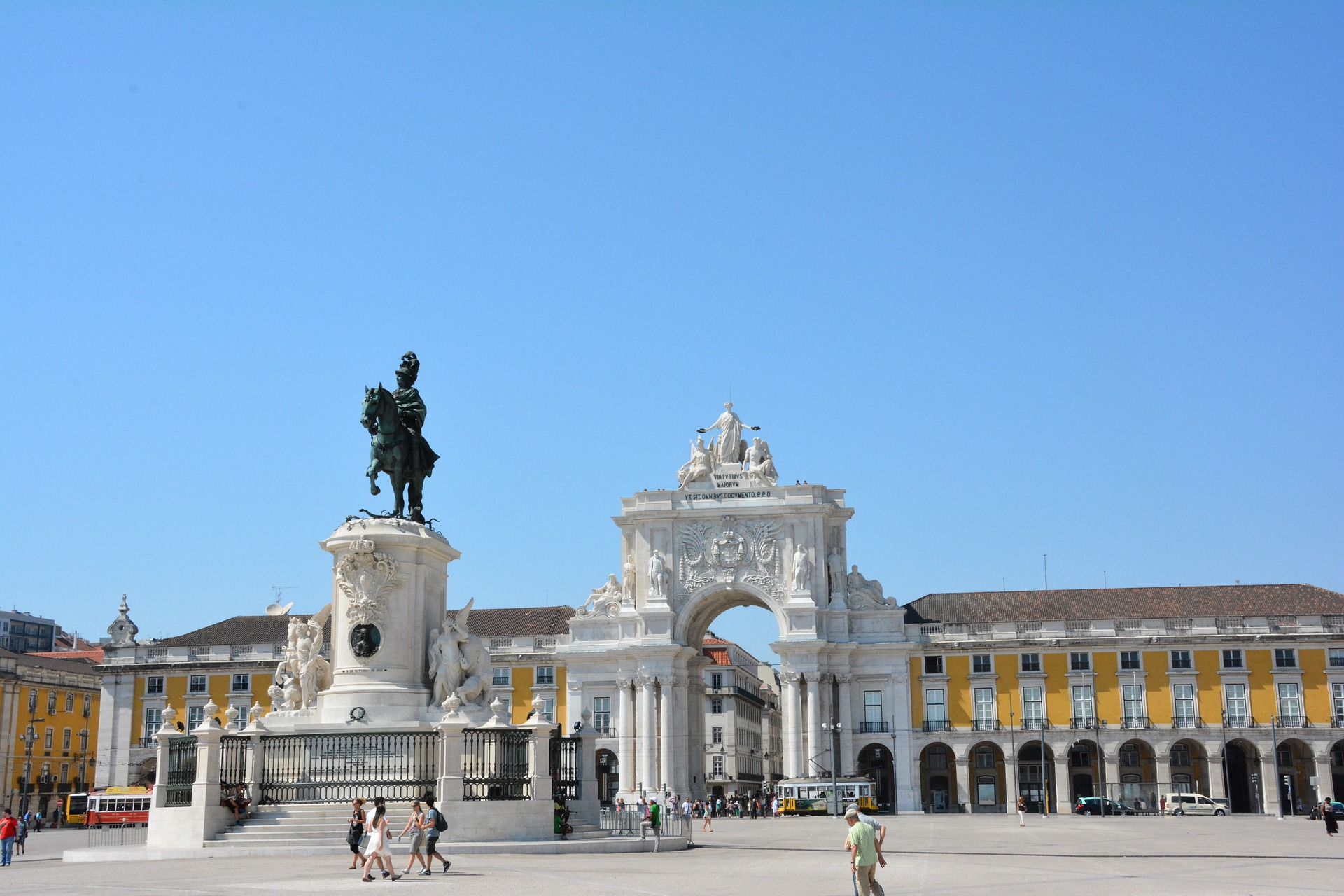 Grand Spain & Portugal - Praça do Comércio, Lisbon, Portugal