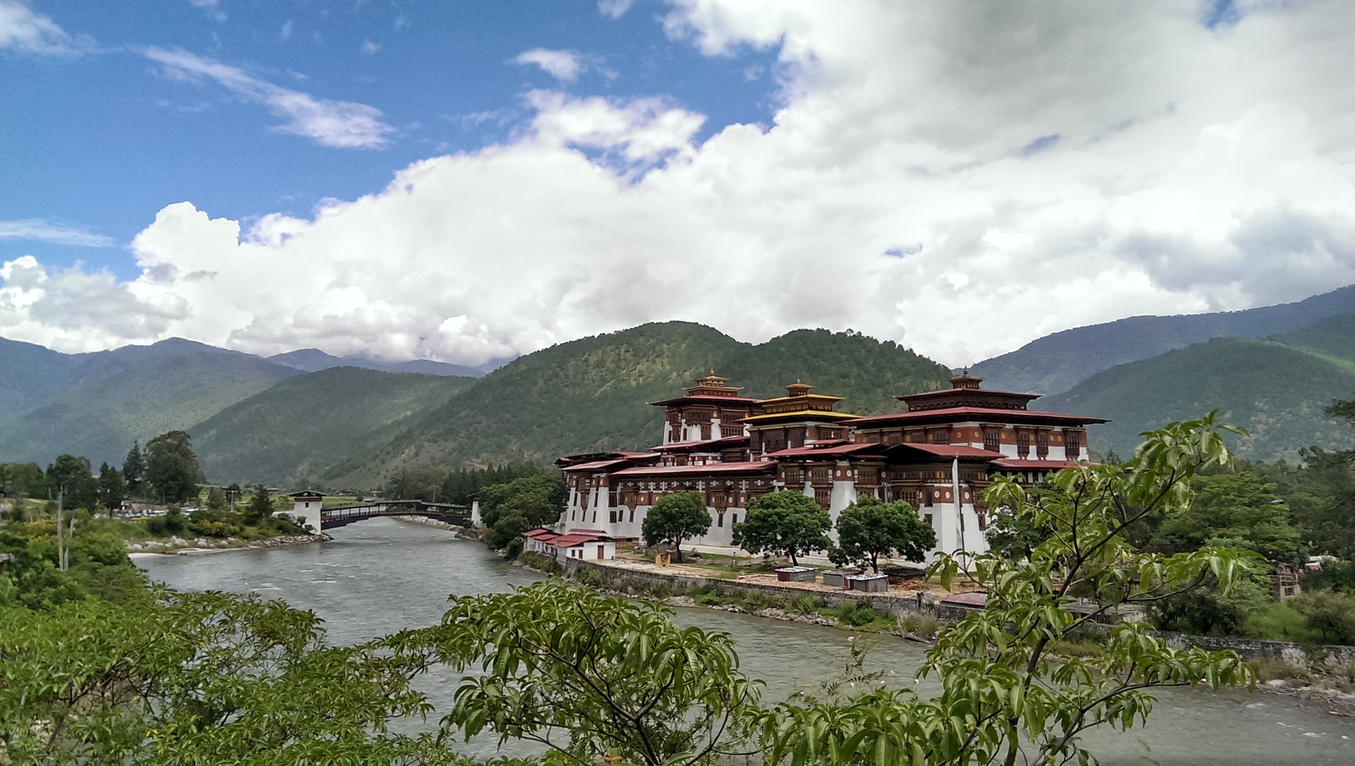Bhutan Dragon Kingdom - Punakha Dzong, Bhutan