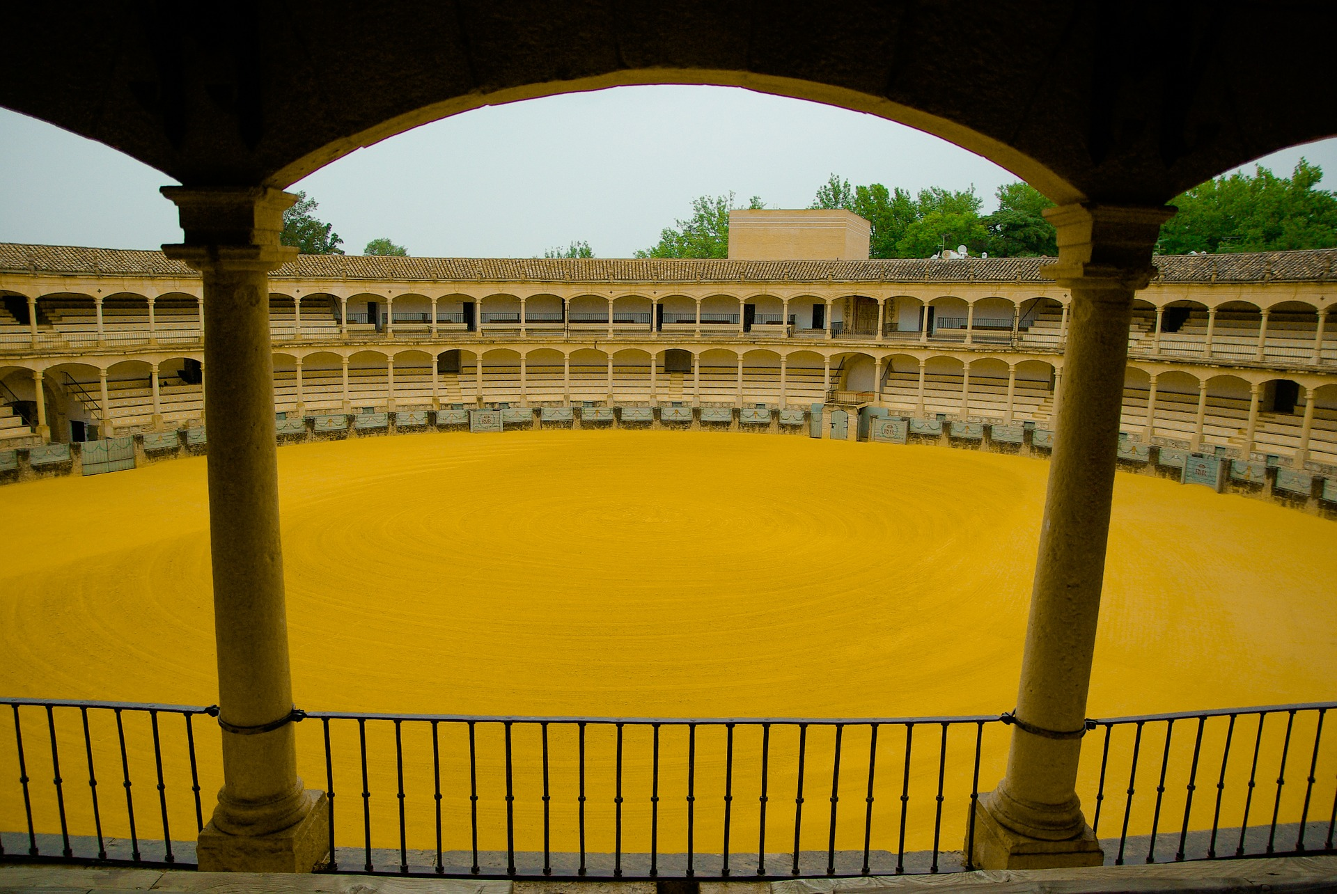 The Best of Spain, Real Maestranza de Caballeria de Ronda, oldest bullfighting ring in Spain, Ronda, Spain