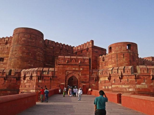 Icons of India - The Taj, Tigers & Beyond - Agra Fort, Agra, India