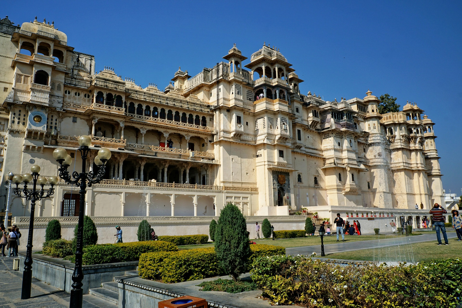 Highlights of Northern India - City palace and museum, Udaipur, India