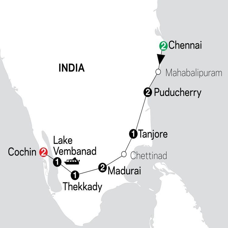 Discover Southern India & Kerala