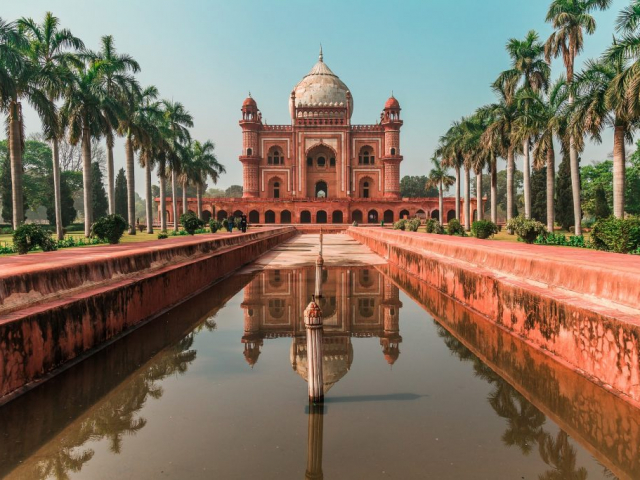 Wonders of the Golden Triangle - Humayun's Tomb, Delhi, India