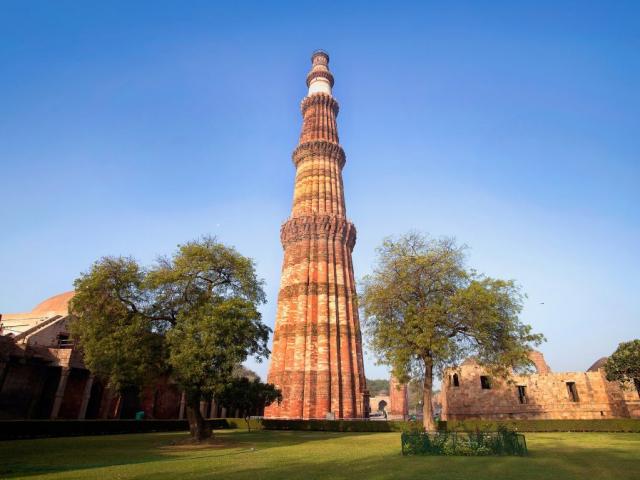 Icons of India - The Taj, Tigers & Beyond - Qutub Minar, Delhi, India