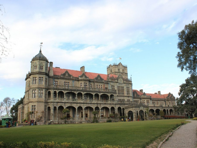 Wonders of the Golden Triangle - Rashtrapati Niwas (Viceregal Lodge), Shimla, India