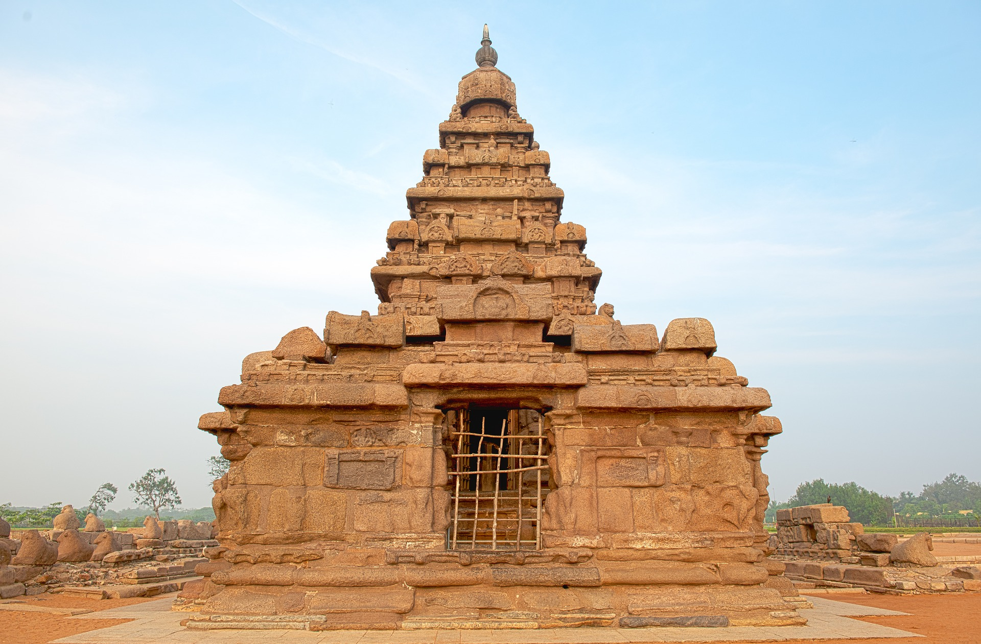 Discover Southern India & Kerala | The Shore Temple Mahabalipuram