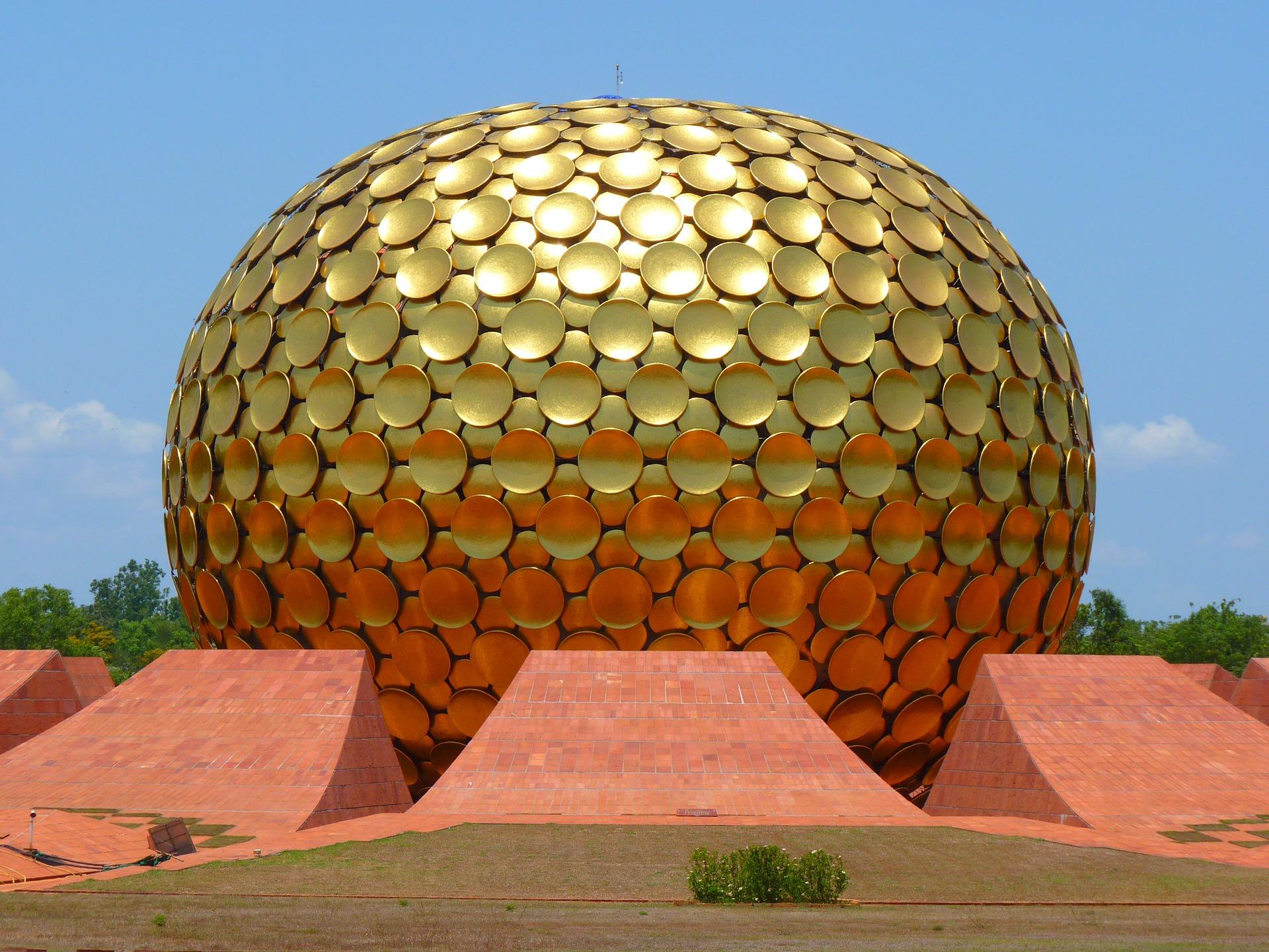 Colours of South India - Aurobindo Ashram, Puducherry, India