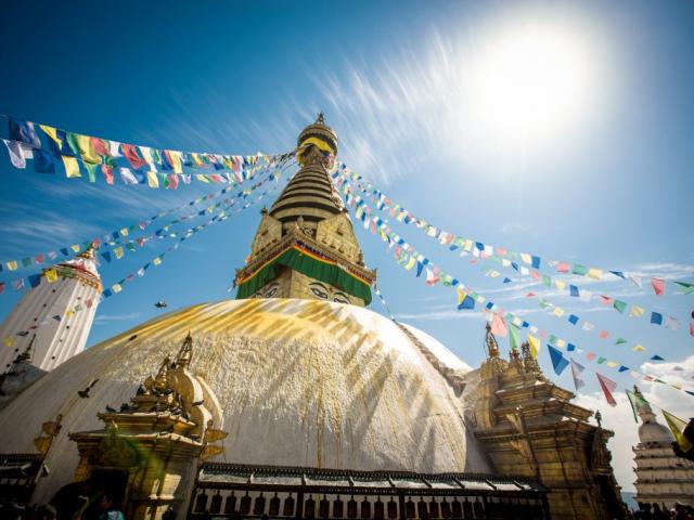 Images of Nepal - Bouddhanath Stupa, Kathmandu, Nepal