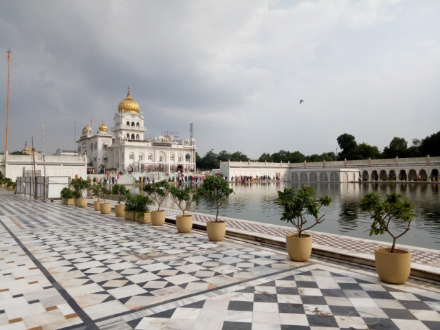 The Golden Triangle & Beyond - Gurudwara Bangla Sahib, Delhi, India