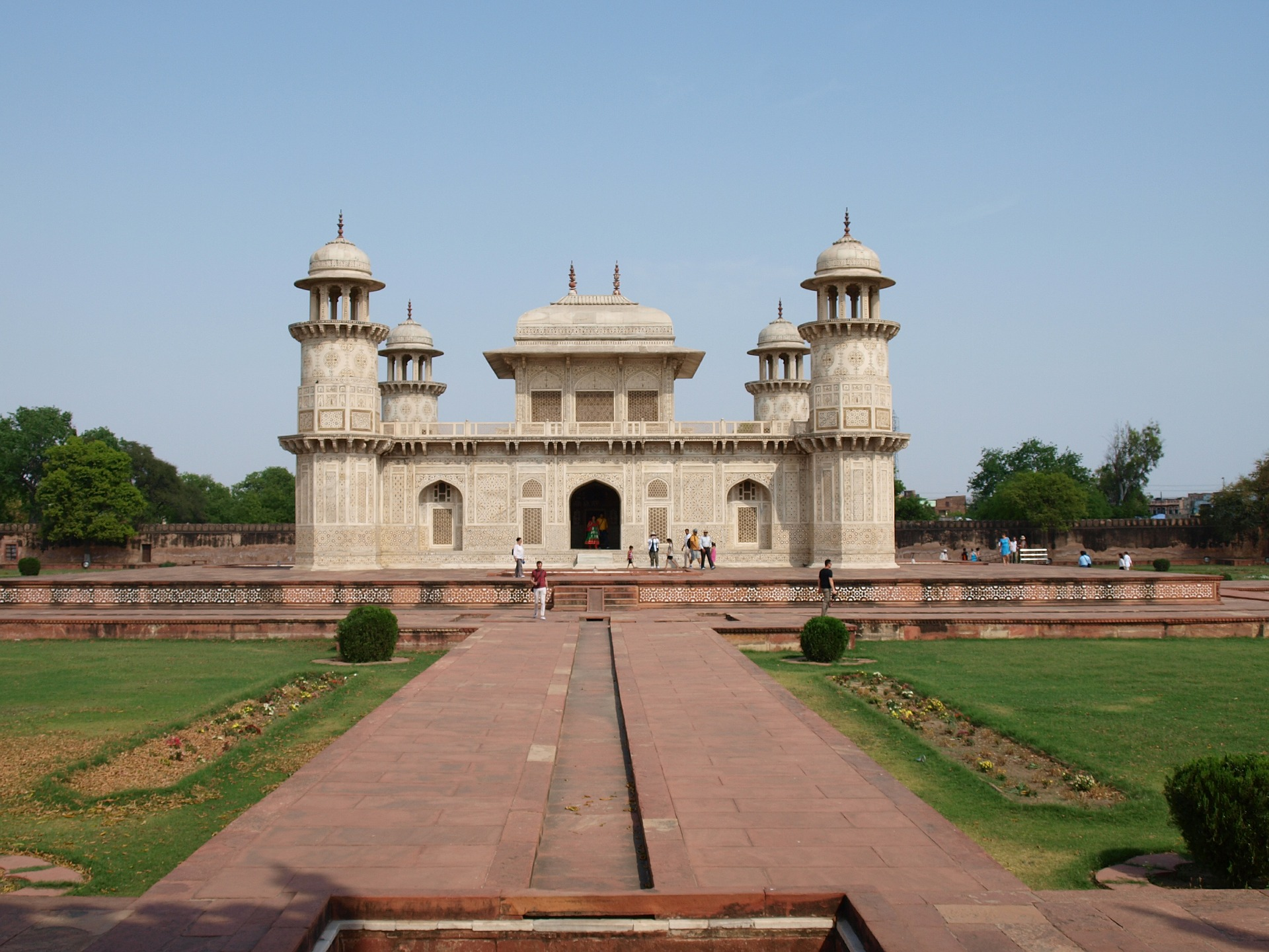 The Golden Triangle & Beyond - Itmad ud Daulah, Baby Taj, Agra, India