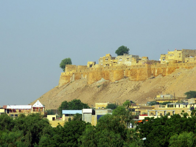 India's Royal Heritage - Jaisalmer Fort, India