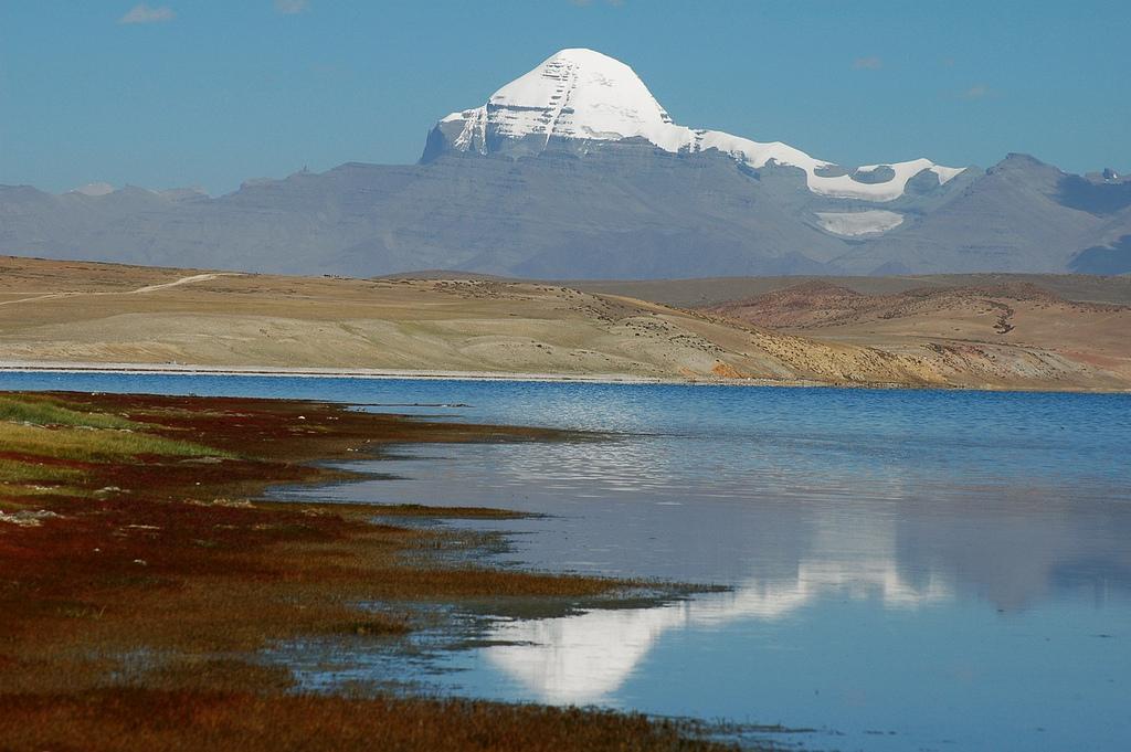 Kailash Manasarovar & Guge Kingdom Exploration Tour - Mt Kailash reflection – 13