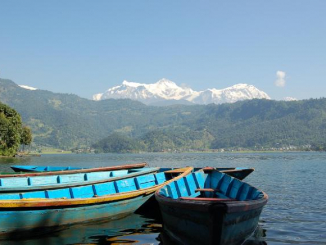 Vintage Nepal - Pokhara, Nepal