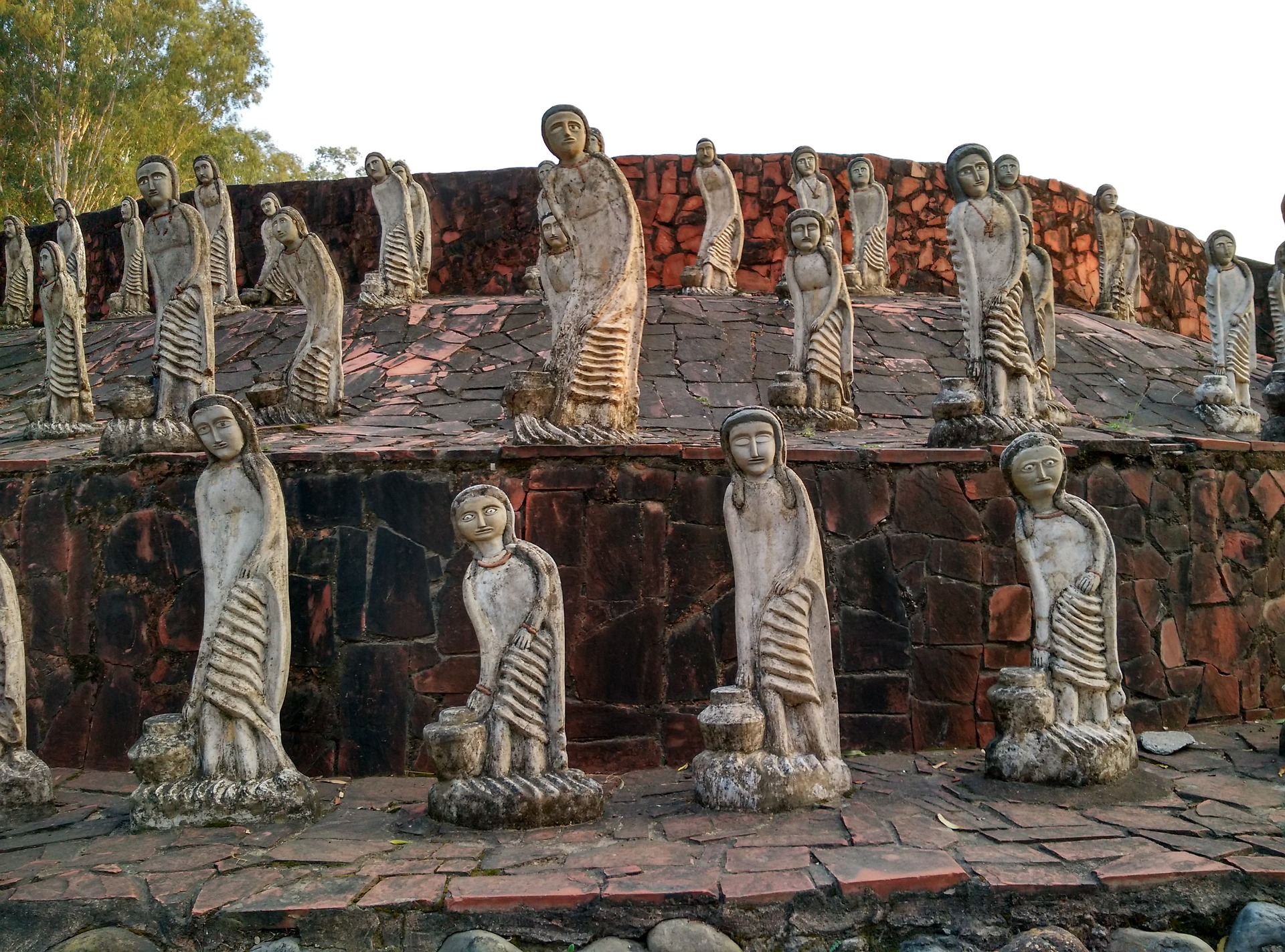 Fabled Hill Stations & The Golden Temple - Rock Garden, Chandigarh, India