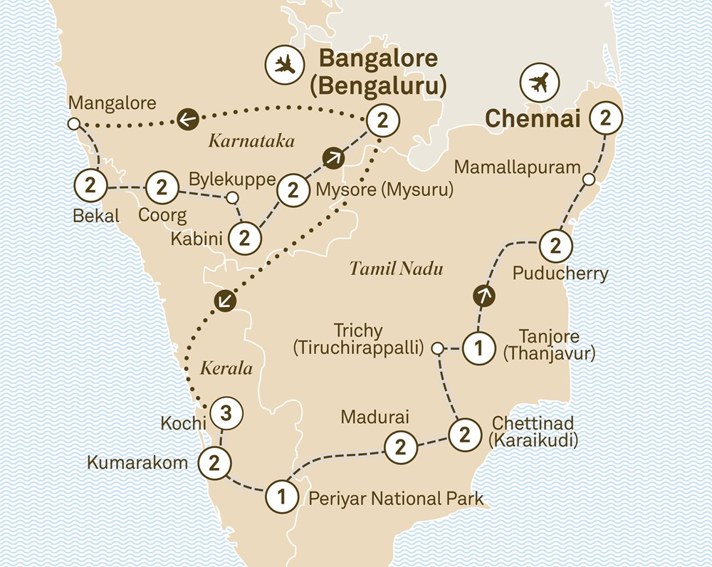 Southern India Odyssey