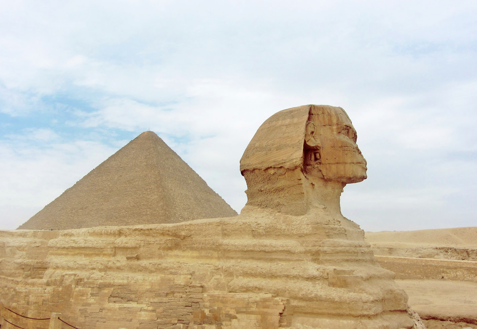 Treasures of Egypt & The Nile - Great Pyramid of Giza & Great Sphinx of Giza, Cairo, Egypt