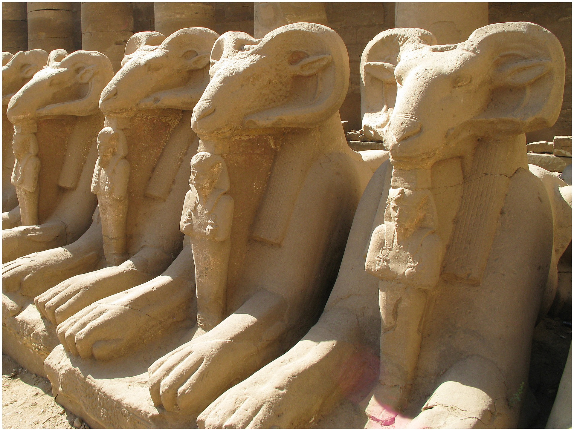 The Treasures of Egypt - Temple Complex of Karnak, Egypt