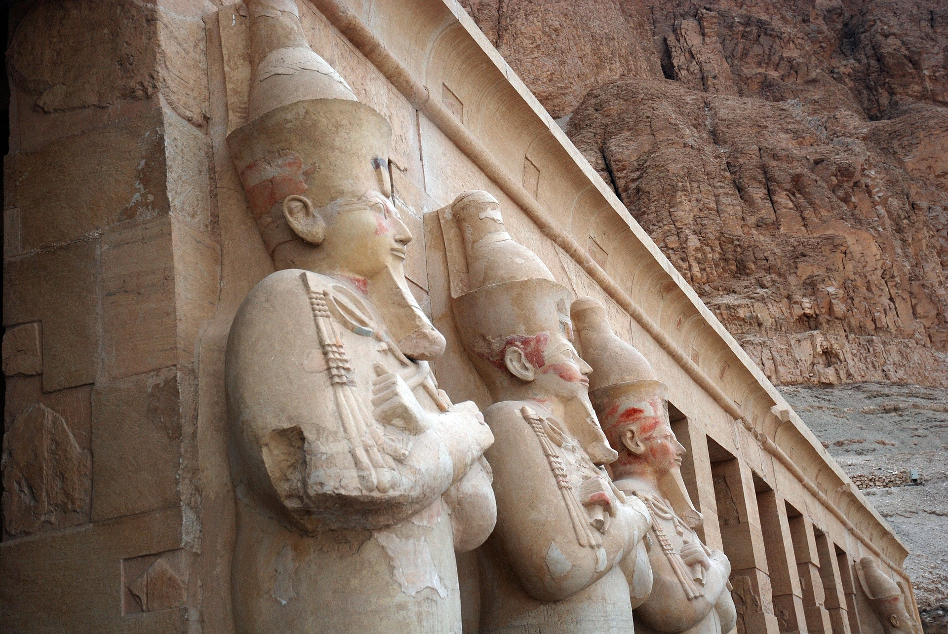 Wonders of Egypt - Temple of Hatshepsut, Egypt