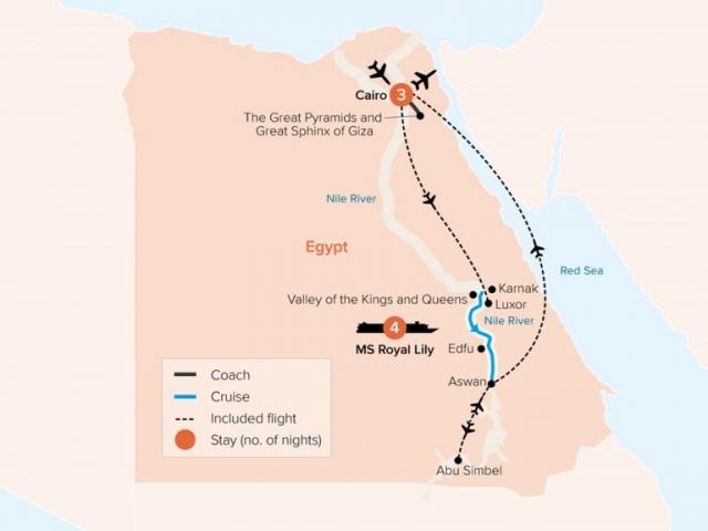 Treasures of Egypt & The Nile