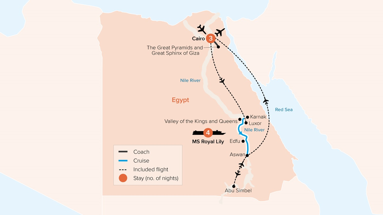 Treasures of Egypt & The Nile