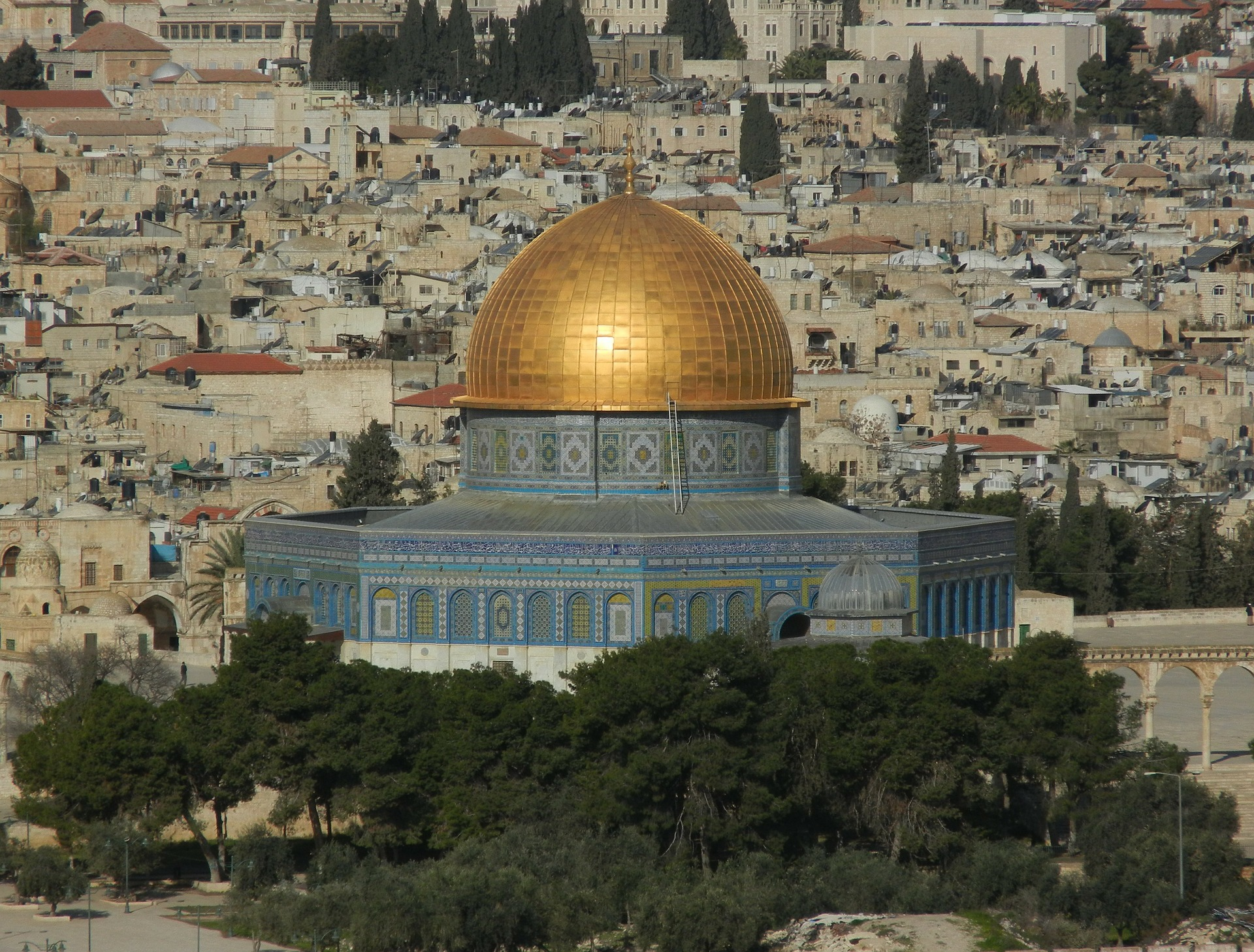 Israel the Holly Land - Al-Aqsa Mosque, Jerusalem, Israel