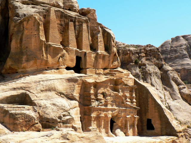 Essential Petra - Royal Tombs, Petra, Jordan