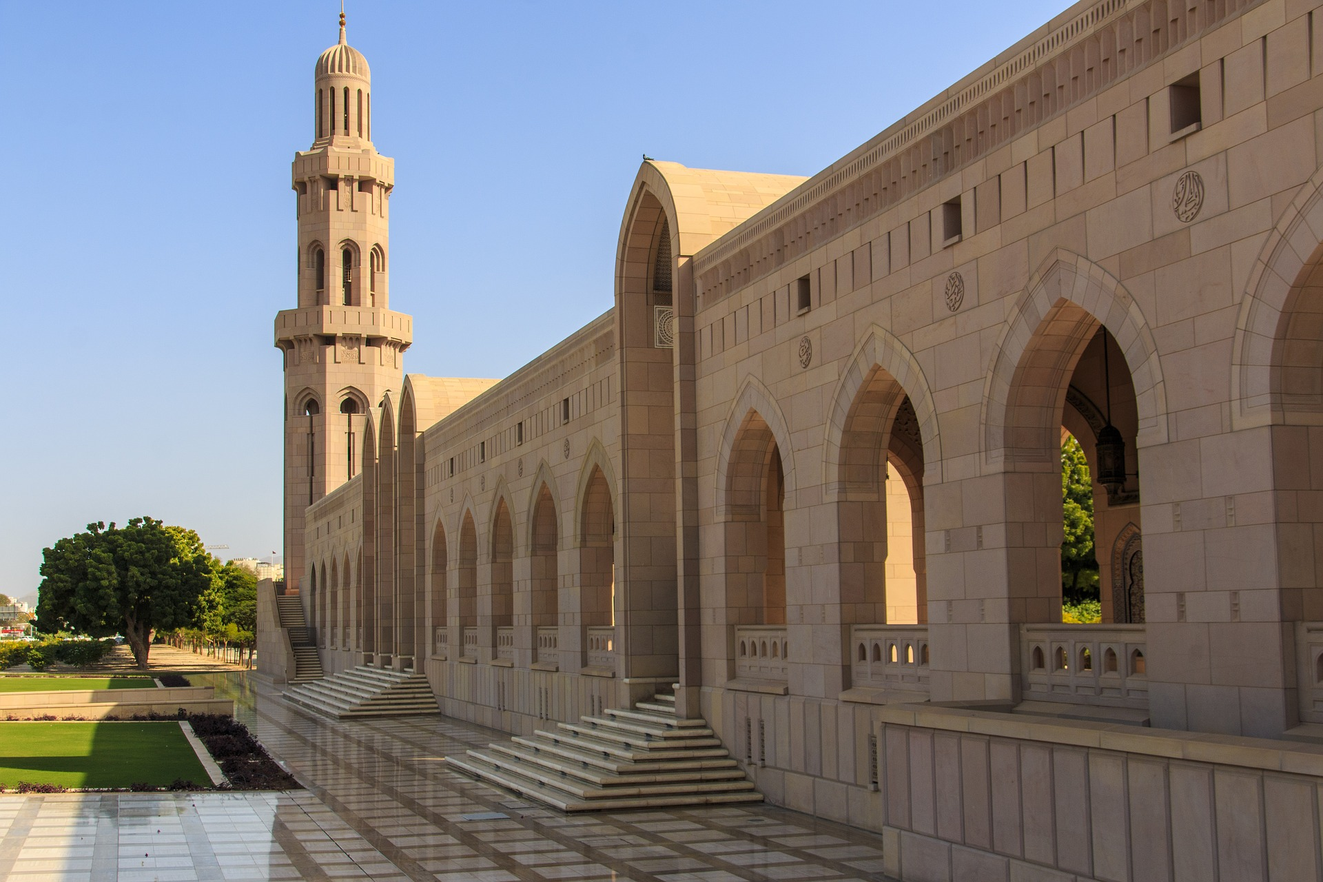 Muscat in Style - Sultan Gaboos Grand Mosque, Muscat, Oman