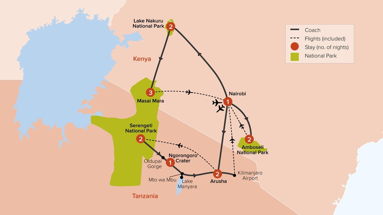 Kenya & Tanzania Adventure