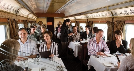 Great Southern Rail - Gold Service Dinning Carriage