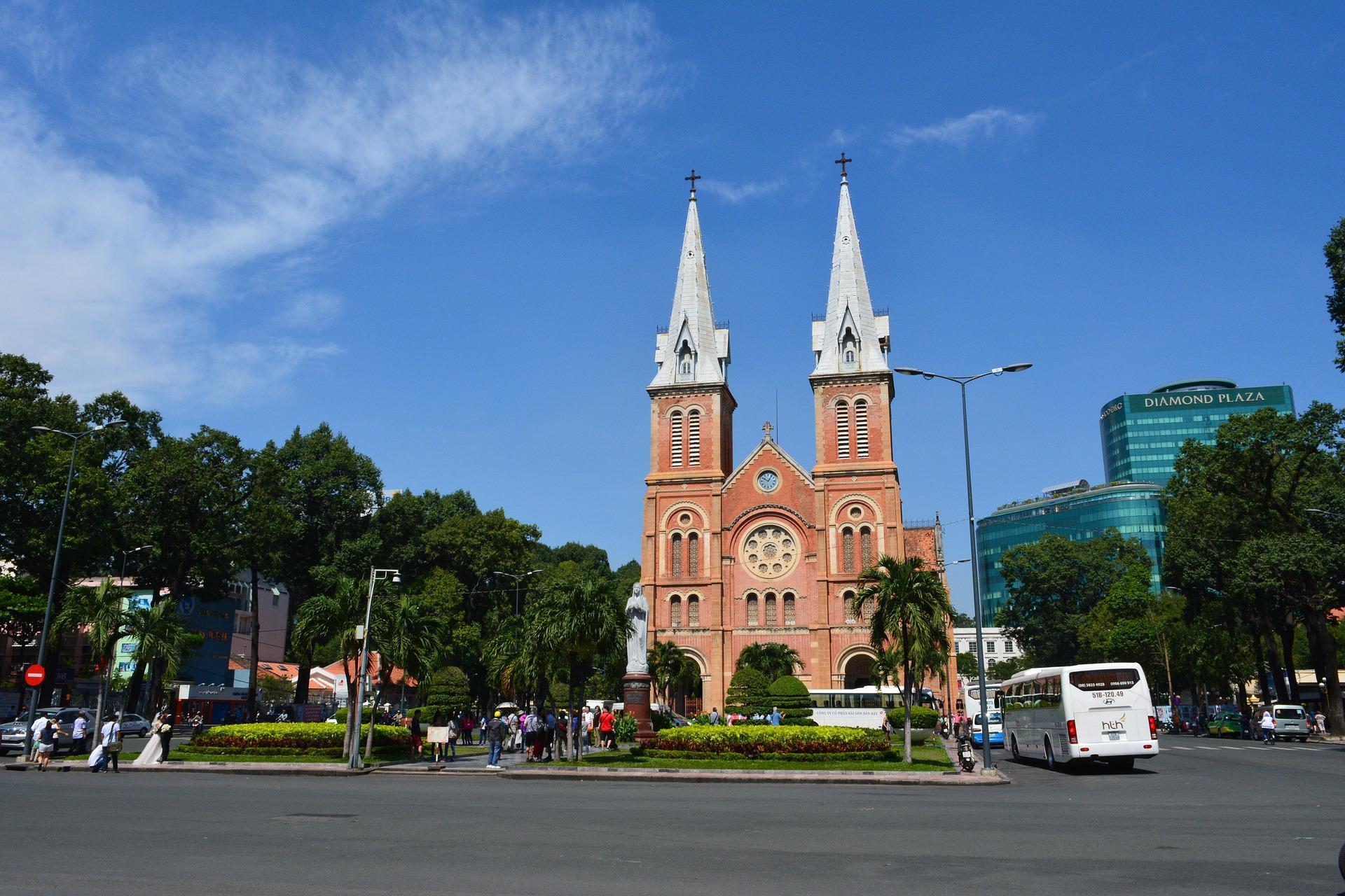 Saigon & Bangkok Explorer | Norte Dame Cathedral, Ho Chi Minh City, Vietnam