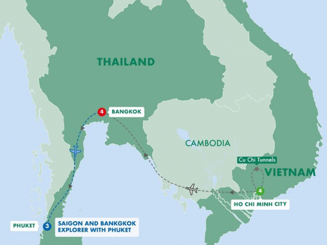 Saigon & Bangkok Explorer
