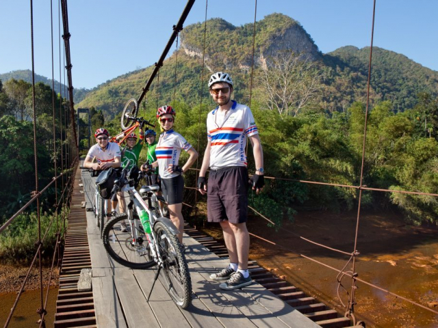 Overland Cycle Adventure from Bangkok to Phuket