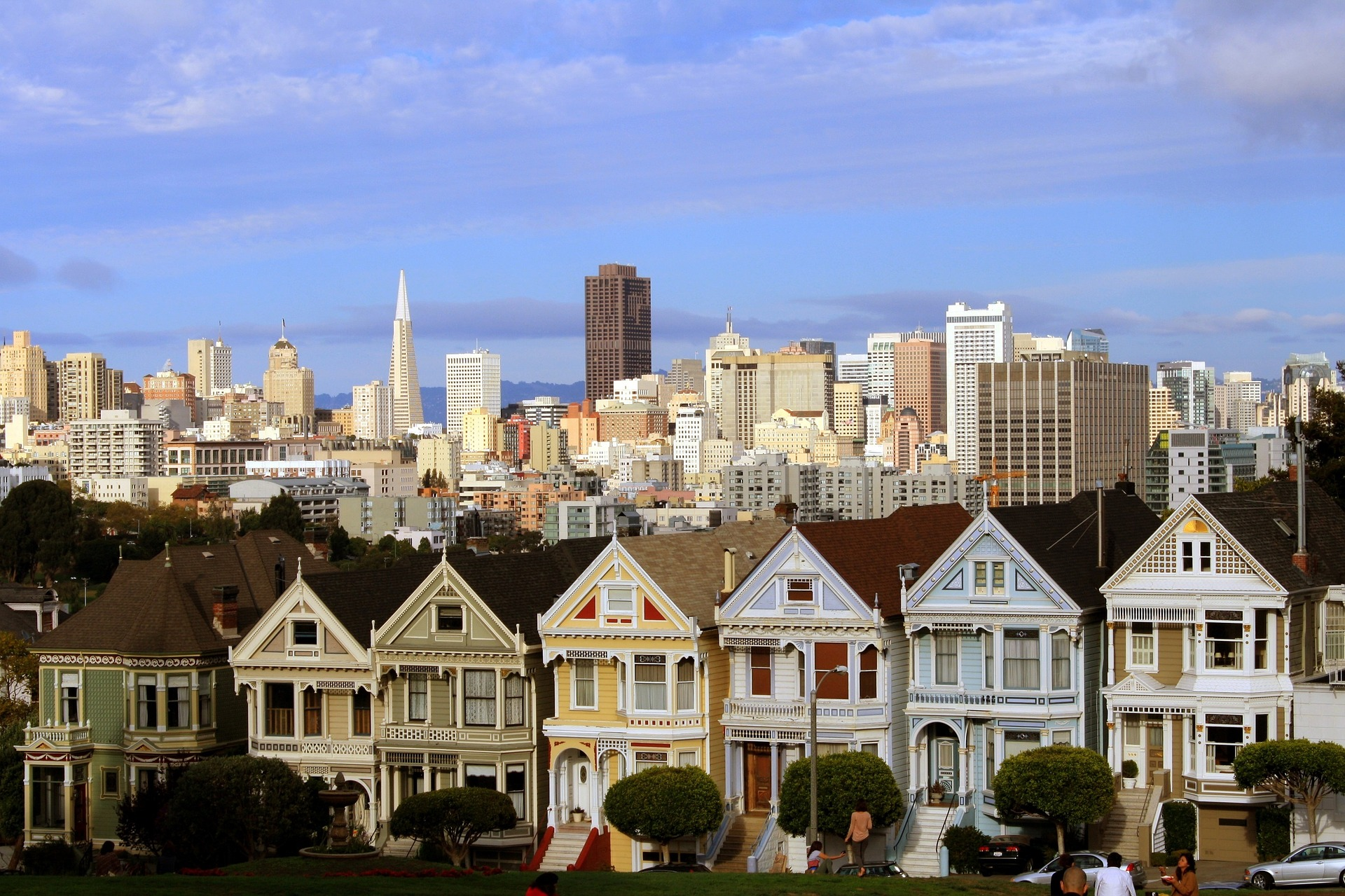 San Francisco Explorer | Alamo Square, San Francisco, California, USA