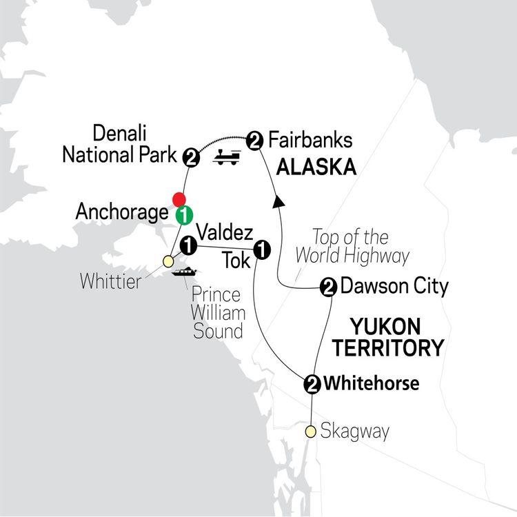Alaska & The Yukon Tour