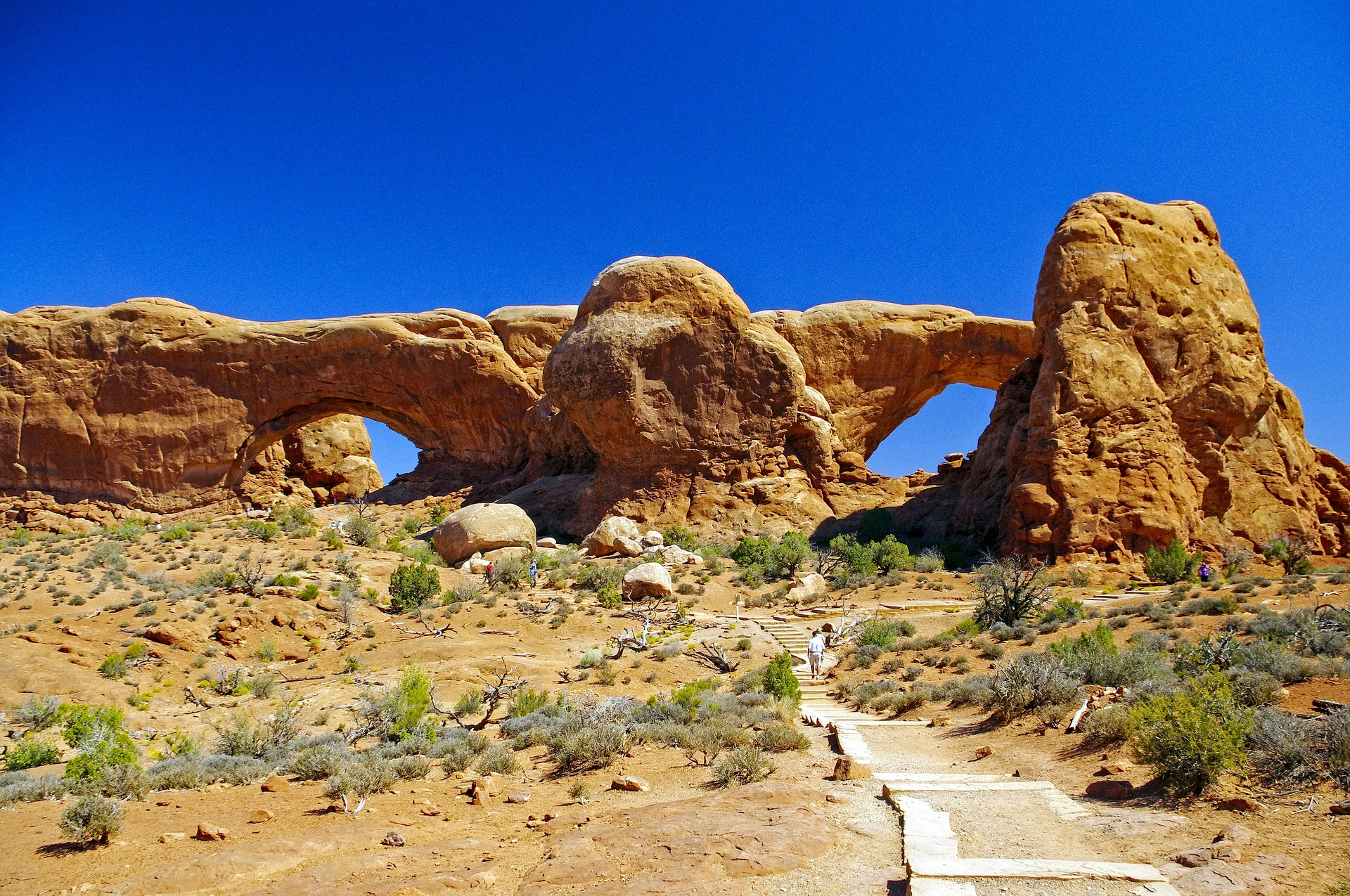 Colourful Trails of the Southwest | Arches National Park, Utah, USA