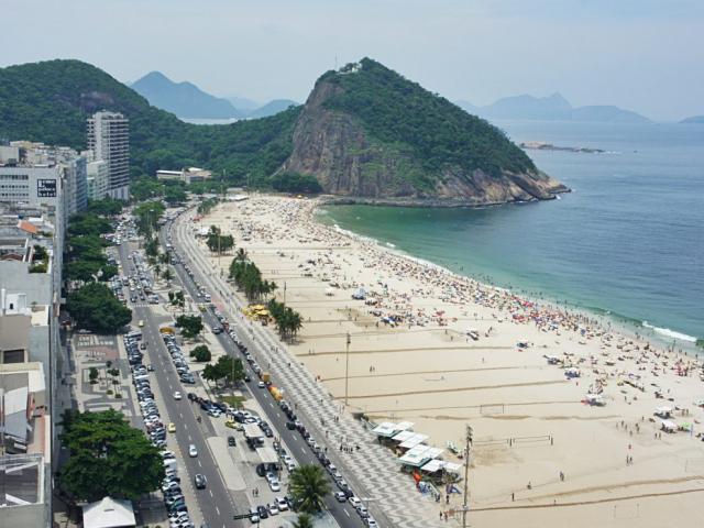 South America Treasures | Copacabana Beach, Rio de Janeiro, Brazil