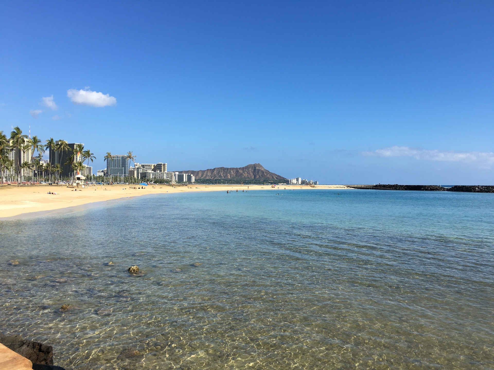 Hawaiian Discovery   Diamond Head, Waikiki Beach, Oahu, Hawaii