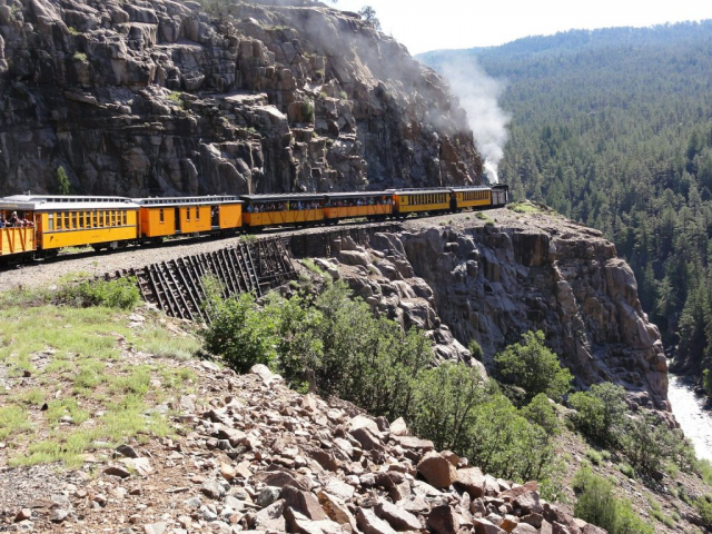 Historic Trains of the Old West | Durango and Silverton Narrow Gauge Railroad, Colorado, USA