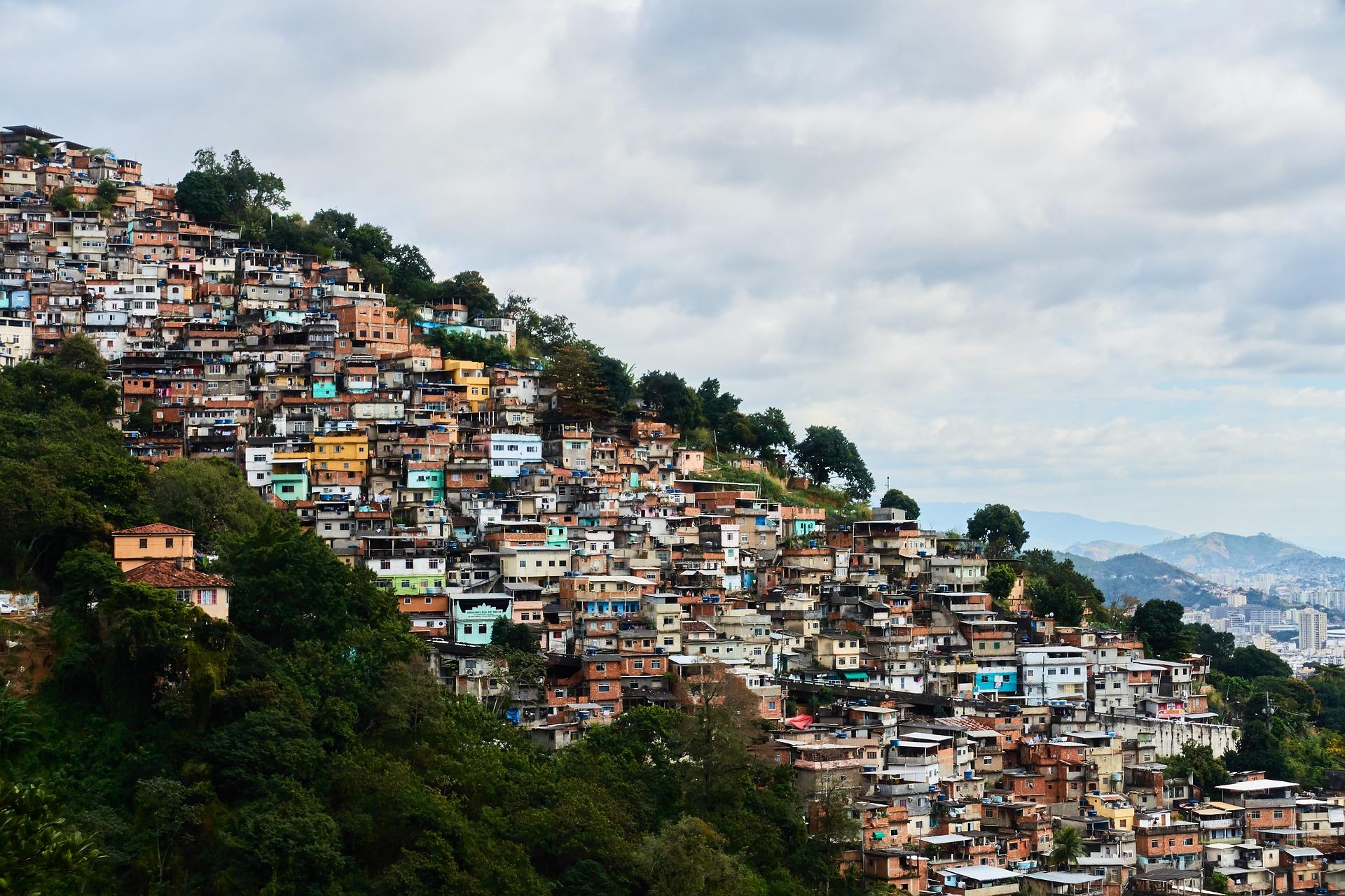 South America Getaway   Favela, Rio de Janeiro, Barzil