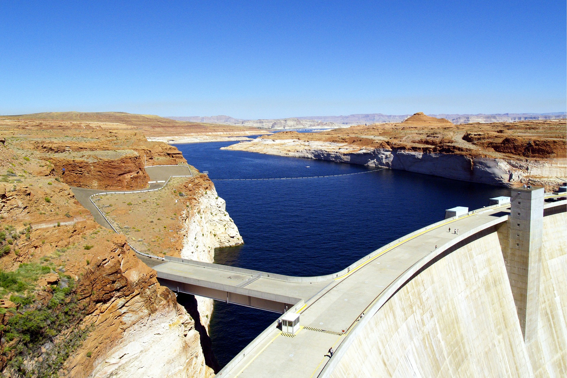 Grand Journey of America's West | Glen Canyon Dam, Arizona, USA
