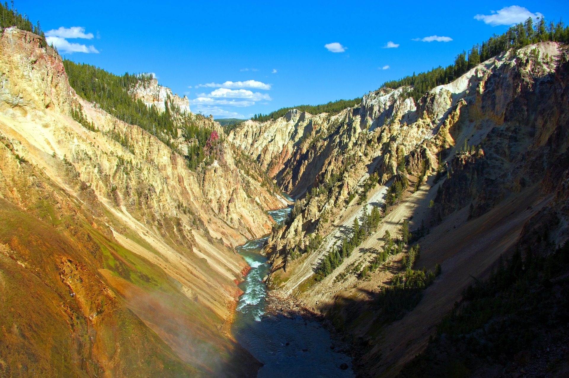 Scenic Parks Explorer | Grand Canyon of the Yellowstone, Yellowstone National Park, Wyoming, USA