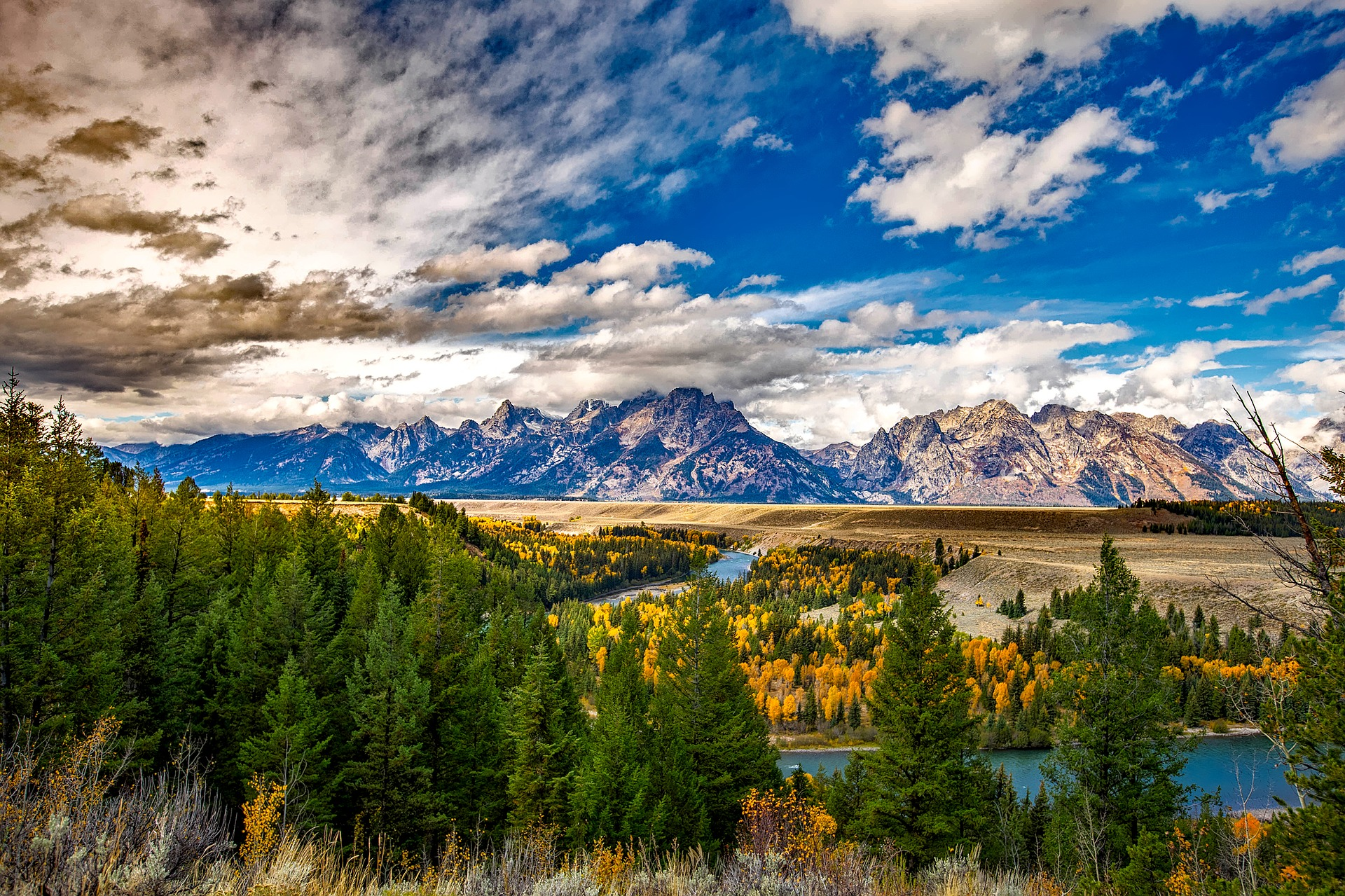 Five Epic National Parks | Grand Teton National Park, Wyoming, USA