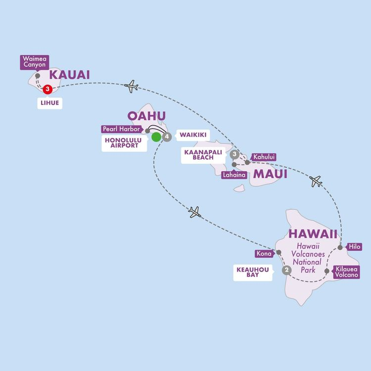 Hawaii Four Island Adventure