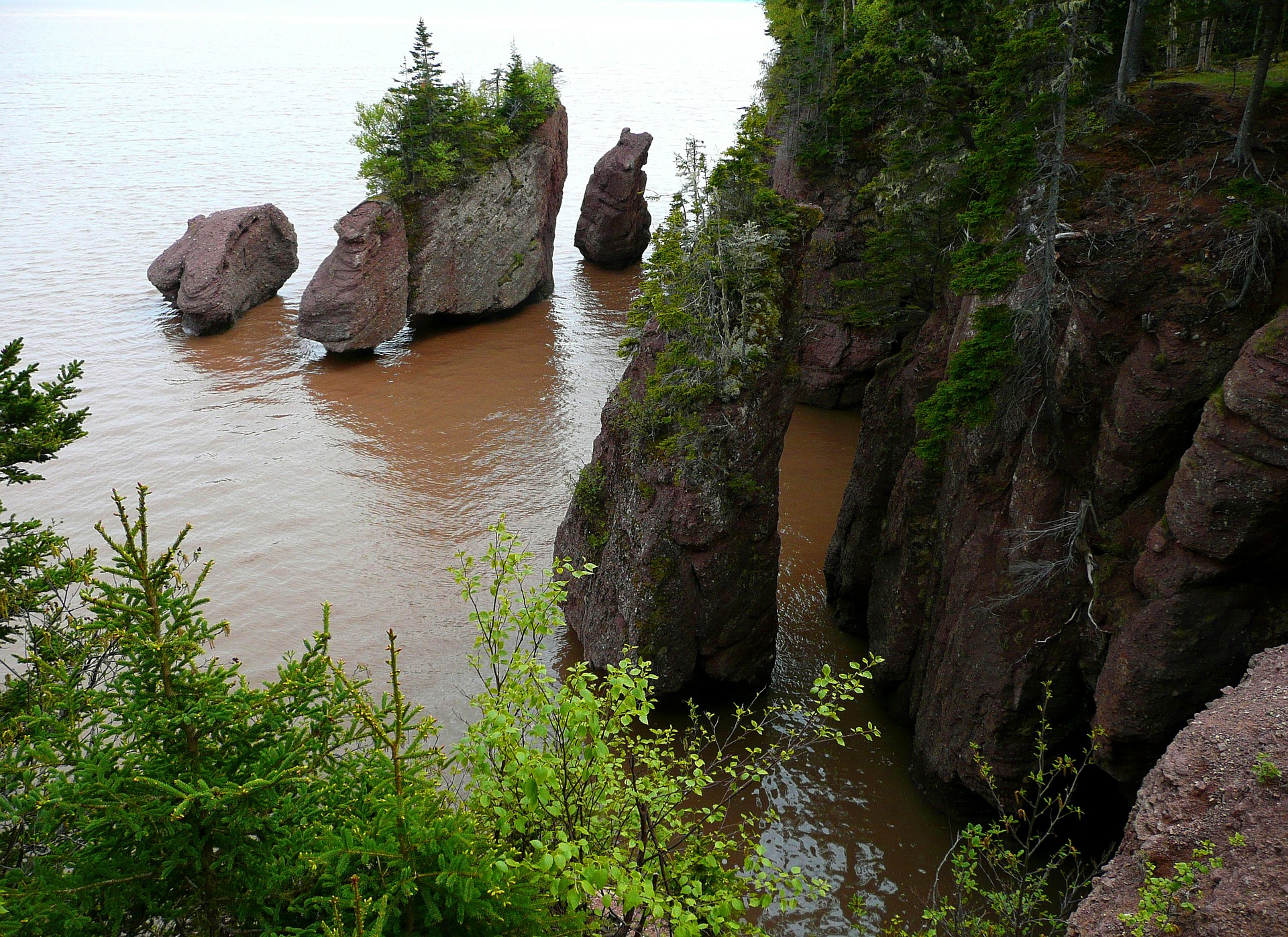 Landscapes of the Canadian Maritimes | Hopewell Rocks, Canada